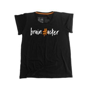 #brainhacker T-shirt Γυναικείο - Μαύρο