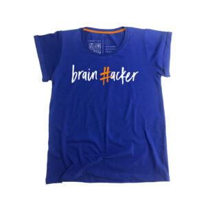 #brainhacker T-shirt Γυναικείο - Μπλε