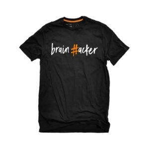 #brainhacker T-shirt Unisex - Μαύρο