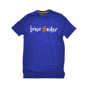 #brainhacker T-shirt Unisex - Μπλε