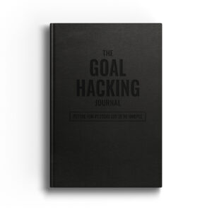 The Goal Hacking Journal Cover